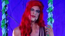Mateus Solano se transforma em'A Pequena Sereia' no programa'Adnight'