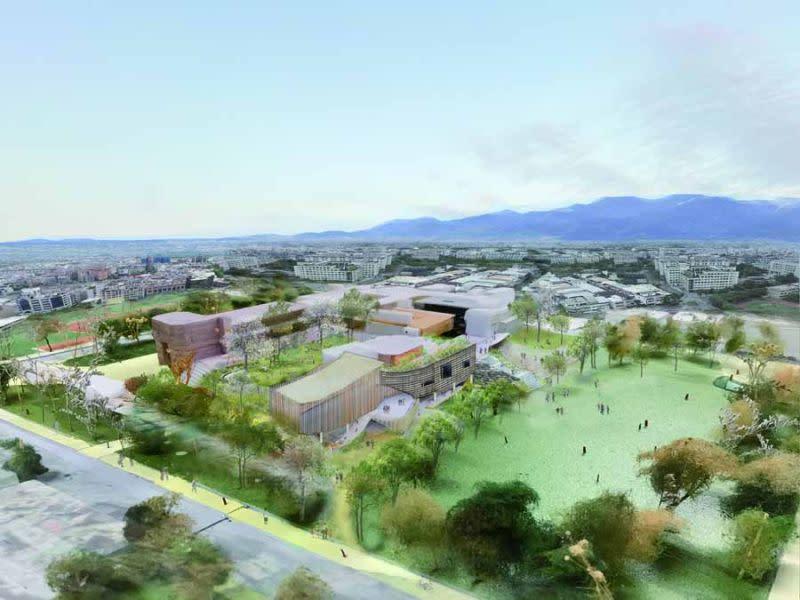 宜縣文化局圖書館新舘 預計112年10月完工 - Yahoo奇摩新聞