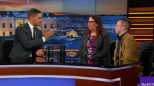 Transgender Veterans Speak Out Against Trump's Ban on 'The Daily Show'