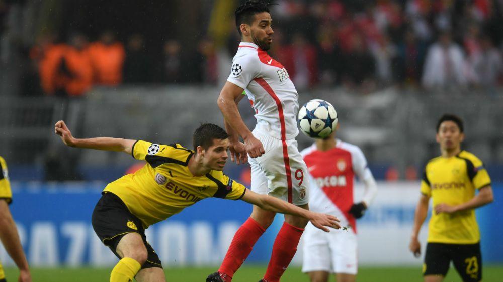 El partido de Radamel Falcao ante Borussia Dortmund