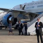 First Lady Melania Trump's plane forced to return to Joint Base Andrews