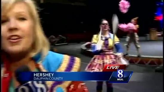 'Greatest Show on Earth' comes to Hershey