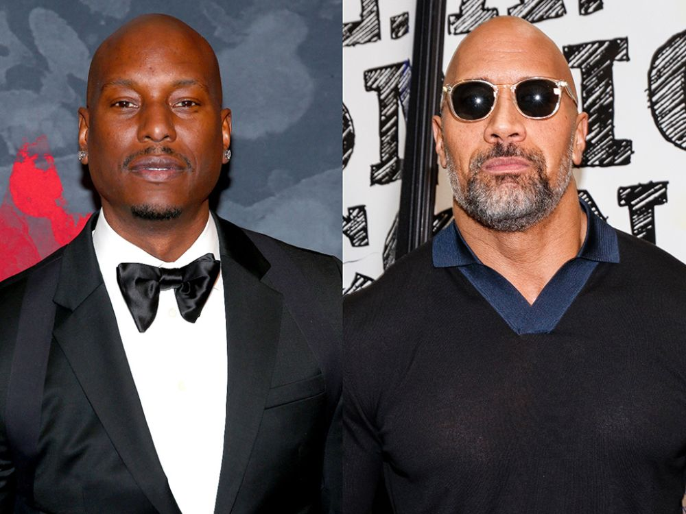 Tyrese Gibson has escalated his feud with Dwayne
