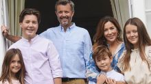 Princess Mary's kids all grown up in adorable new family snaps