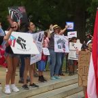 Protesters descend on NC State Capitol, demand Puerto Rico's governor resign