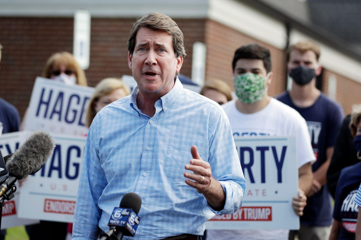 Trump-endorsed Hagerty wins Tennessee Senate primary