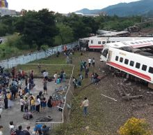 17 dead after train flips in Taiwan