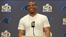 Vegan NFL star Cam Newton says he has seen a 'remarkable change' in his body since ditching meat over a year ago