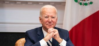 Eager to act, Biden and Dems leave GOP behind