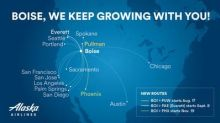 Alaska Airlines grows with Boise, launching new flights and adding more routes