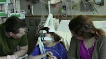 10-year-old has life changing double-lung transplant