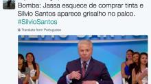Silvio Santos aparece de cabelos grisalhos e gera memes na internet