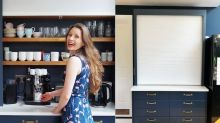 Ikea hack: Woman creates chic kitchen drinks station using £40 blinds