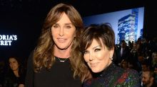 Kris and Caitlyn Jenner Share a Hug While Supporting Kendall at the Victoria's Secret Fashion Show