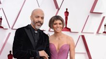 Halle Berry and Van Hunt share behind-the-scenes photos of their red carpet debut at the Oscars: '1st date night'
