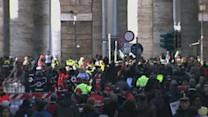 Raw: Crowds in Vatican Could Reach One Million