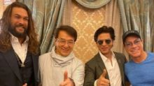Legends Unite! SRK Meets 'Heroes' Jackie Chan, JCVD & Jason Momoa