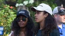 Sasha and Malia Obama Are on Vacation With Their Parents in Indonesia