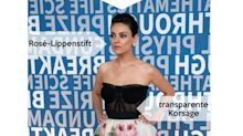 Look des Tages: Mila Kunis im Korsagenkleid