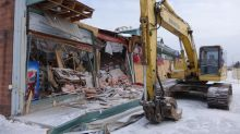 Demolition begins at Dunrobin Plaza, but future still unclear