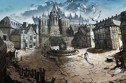 The stunning vistas of Valhalla Knights concept art