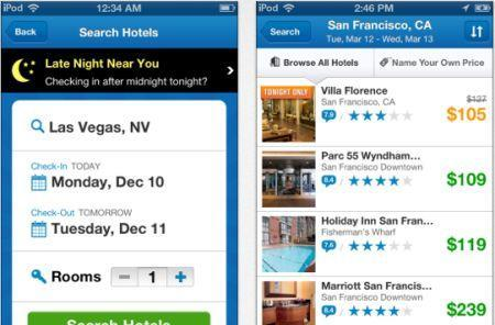 Priceline says mobile flight bookers like taking it easy