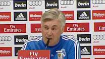 Classico pressure the same for Real and Barça, Ancelotti says
