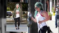Hilary Duff Explains Why She Changed Her Hair to 'Mermaid' Blue