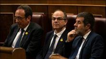 Inhaftierte Katalanen bei konstituierender Sitzung des spanischen Parlaments