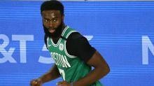 Report: How Jaylen Brown challenged players in NBA boycott meeting