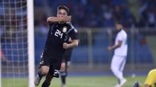 Argentina routs Iraq 4-0 despite Messi's absence