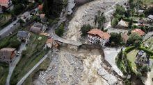 Chaos nach Unwettern in Südfrankreich und Norditalien