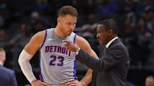 Now the elder statesman, Detroit Pistons' Blake Griffin has two goals this season