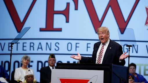 Trump promises to do more for veterans than anyone else (especially Clinton)