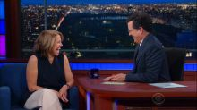Katie Couric's Papal Gift for Stephen Colbert