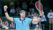 Top-seeded John Isner wins third Hall of Fame title