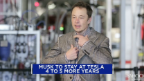 Elon Musk to stay at Tesla for 4-5 years