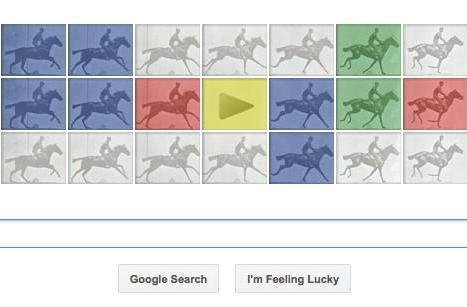 Google doodle gets animated to honor zoopraxiscope creator