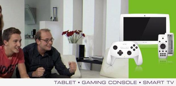 Snakebyte gamepad evolves into Unu Android tablet, promises to replace your Smart TV