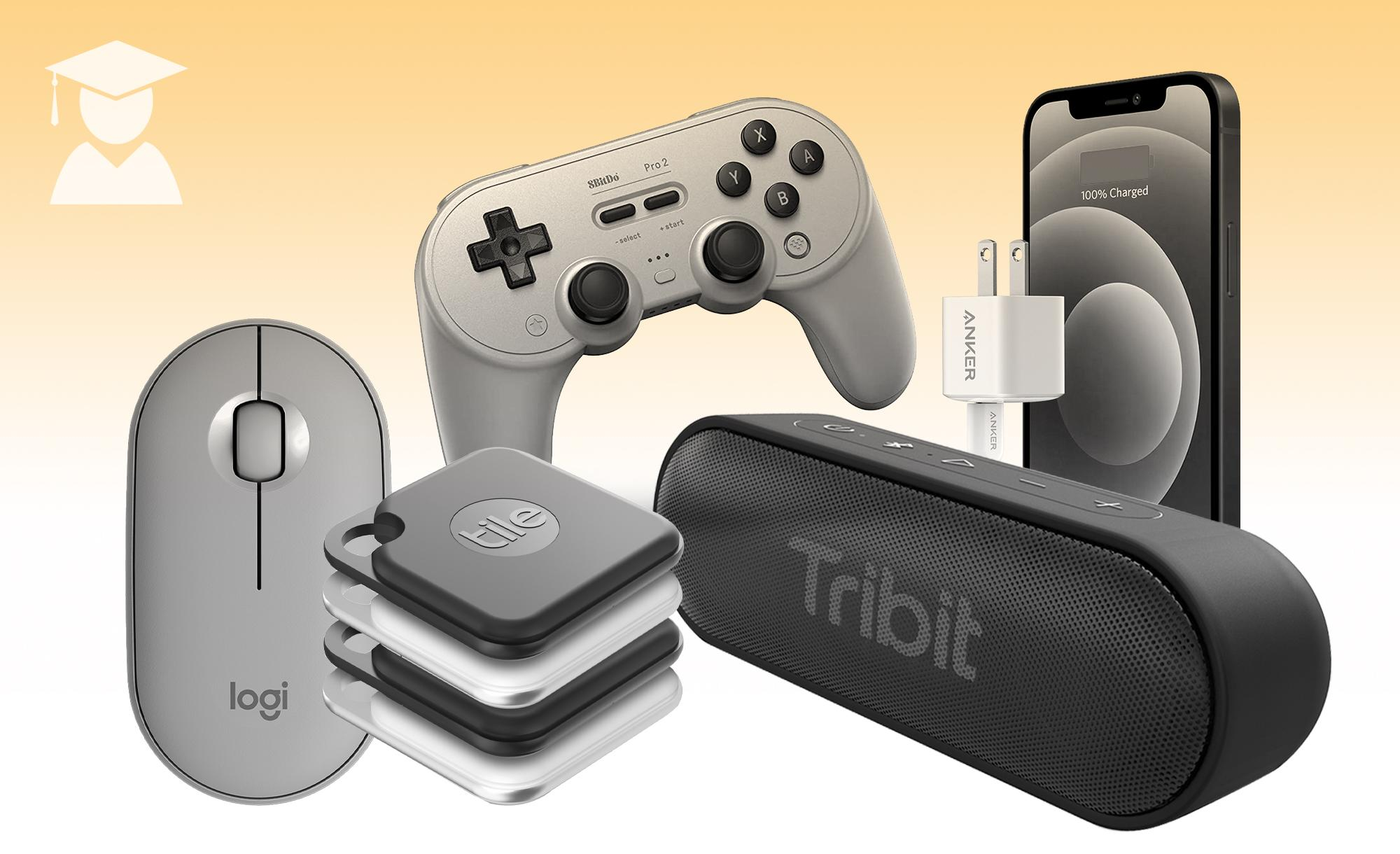 A collage of products from Engadget's Graduation gifts for under $50.