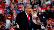 Trump calls himself 'Donald Prump', gives himself 'D' for coronavirus response and appears to admit trying to blackmail Oracle