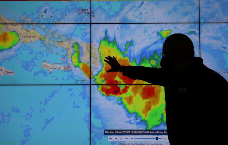 Louisiana orders evacuations as twin storms take aim at U.S. coast