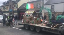 Spiddal 'Lidl Looting' Float Gets the Local People's Vote for St Patrick's Day Highlight