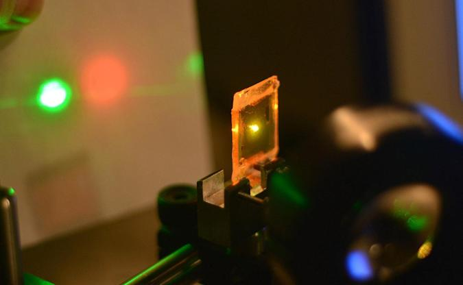 Advanced sensors could use rubberized laser beams