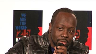 Wyclef Jean On 'We Are The World' Anniversary Remix