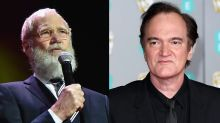 David Letterman says his most famous feud was with Quentin Tarantino, who he claims threatened to kill him