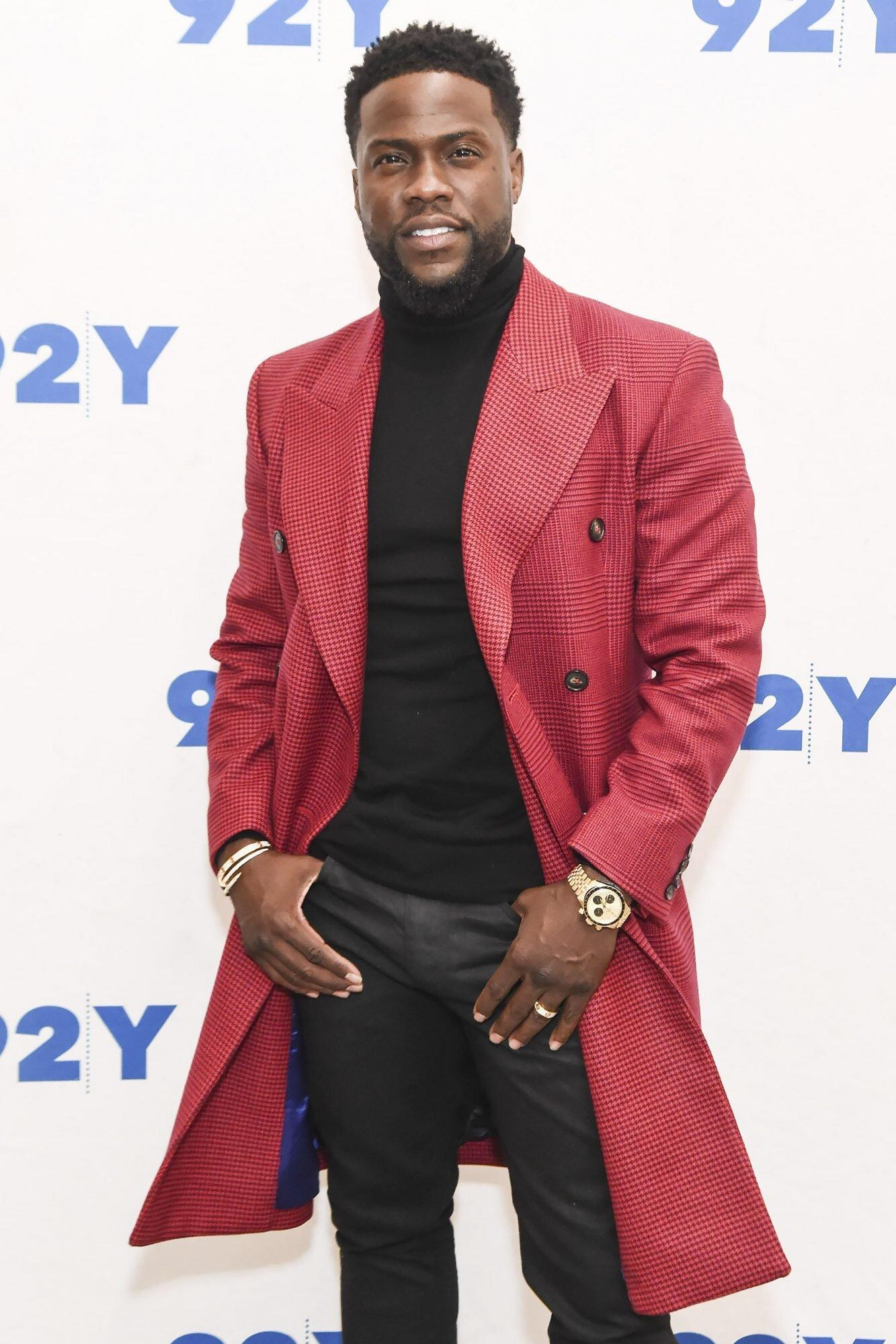 Kevin Hart Says He Turned Down an Offer to Go to Space But Is Not Ruling Out a Future Trip Just Yet