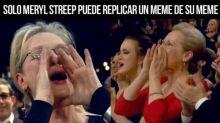 Oscar2018: Meryl Streep convertida en meme viral