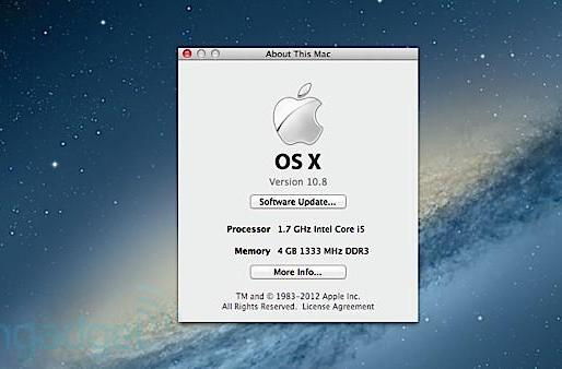 Apple sunsets a few 64-bit Macs with Mountain Lion, video drivers likely the culprit
