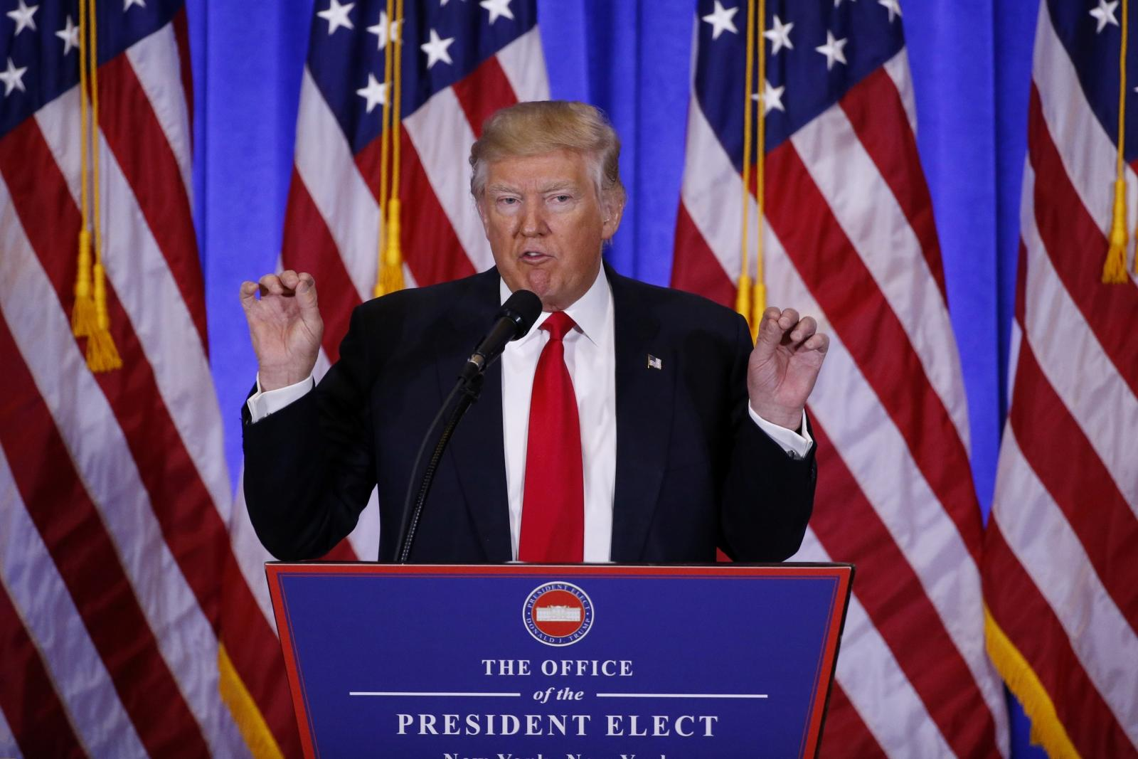 Most Asian markets decline following Donald Trump's failure to provide clarity on economic policies